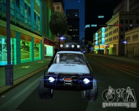ВАЗ 2131 Нива 5Д OffRoad для GTA San Andreas вид сзади слева