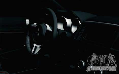 Mitsubishi Lancer X для GTA San Andreas вид справа