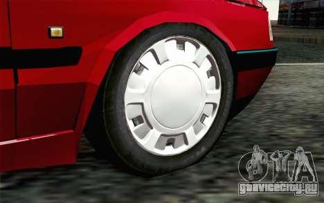 Peugeot 405 Tuning для GTA San Andreas вид сзади слева