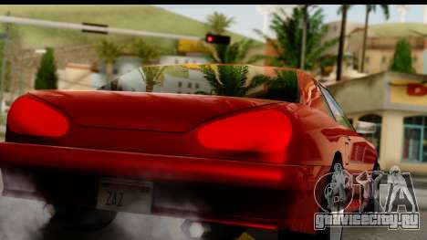 Elegy V1 для GTA San Andreas вид справа
