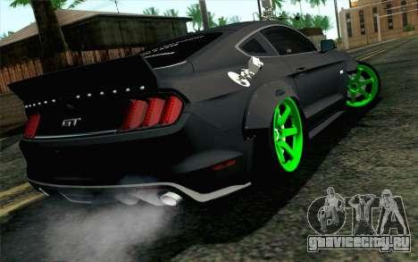 Ford Mustang 2015 Monster Edition для GTA San Andreas вид слева