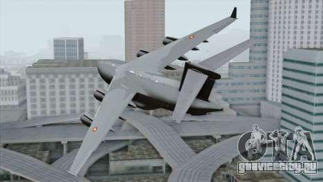 C-17A Globemaster III QAF для GTA San Andreas вид слева