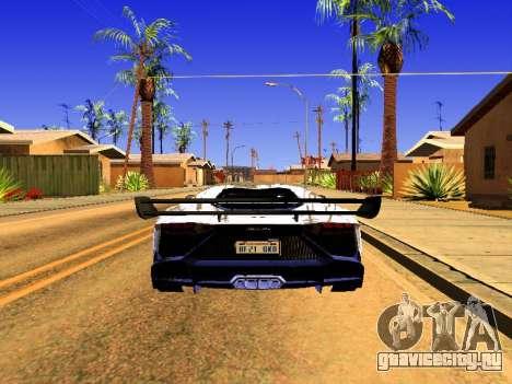 Lamborghini Aventador Novitec Torado для GTA San Andreas вид слева