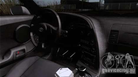 Toyota Supra US-Spec (JZA80) 1993 HQLM для GTA San Andreas вид справа
