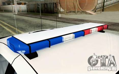 Chevy Caprice SAHP SAPD Highway Patrol v1 для GTA San Andreas вид сзади слева