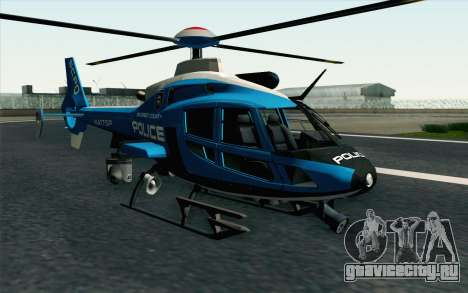 NFS HP 2010 Police Helicopter LVL 2 для GTA San Andreas