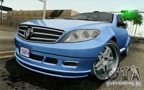 GTA 5 Benefactor Schafter для GTA San Andreas
