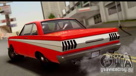 GTA 5 Vapid Blade v2 для GTA San Andreas вид слева