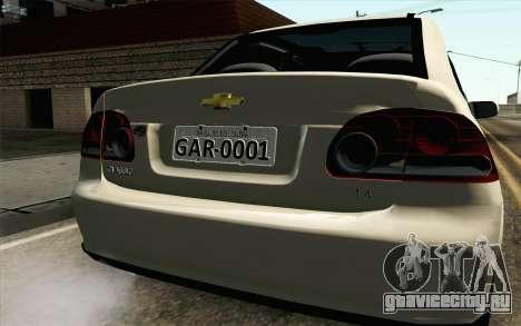 Chevrolet Classic для GTA San Andreas вид сзади