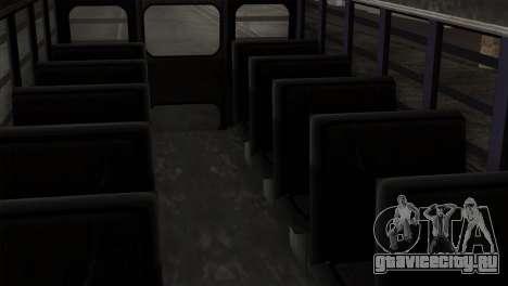 GTA 4 TLaD Prison Bus для GTA San Andreas вид сзади