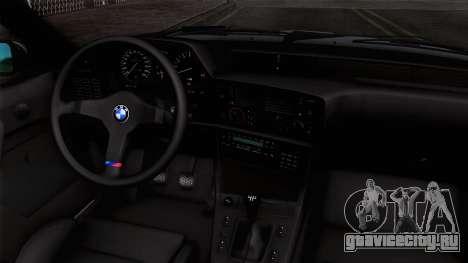 BMW M635 CSi 1984 Stock для GTA San Andreas вид справа