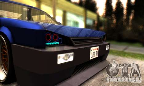 Blista Compact By VeroneProd для GTA San Andreas вид сбоку