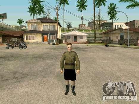 Cержант военно-полевой медицины для GTA San Andreas