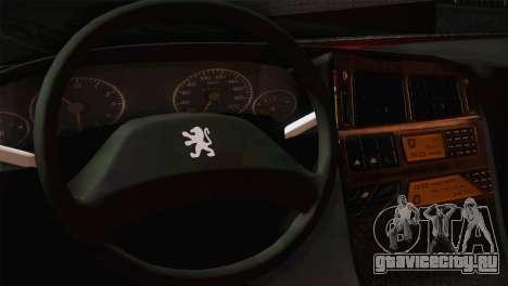 Peugeot Pars для GTA San Andreas вид сзади слева
