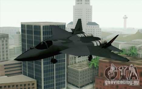 Sukhoi PAK-FA China Air Force для GTA San Andreas