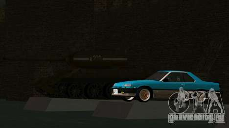 Nissan Skyline 2000 Turbo Intercooler RS-X kouki для GTA San Andreas вид изнутри