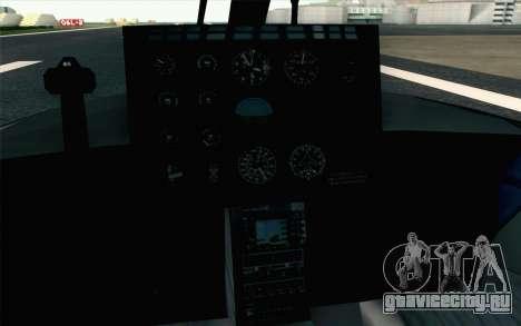 NFS HP 2010 Police Helicopter LVL 2 для GTA San Andreas вид сзади