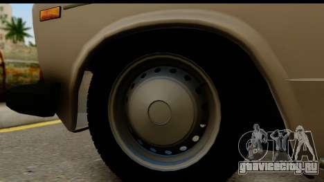 ВАЗ 2106 Low Classic для GTA San Andreas вид сзади