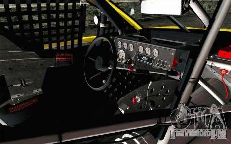NASCAR Ford Fusion 2013 v4 для GTA San Andreas вид справа