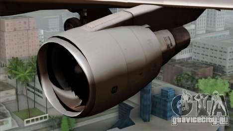 Boeing E-767 Japan Air Self-Defense Force EoJ для GTA San Andreas вид сзади