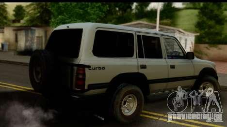 Toyota Land Cruiser 80 v1.0 для GTA San Andreas вид слева