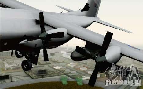 C-130H Hercules RAF для GTA San Andreas вид справа