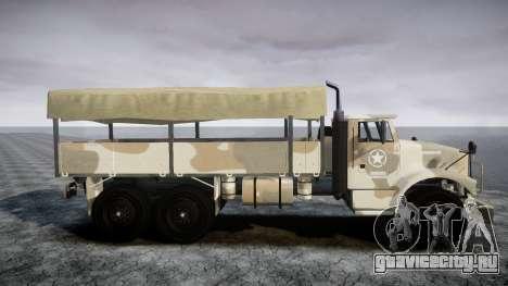 GTA 5 Barracks v2 для GTA 4 вид справа