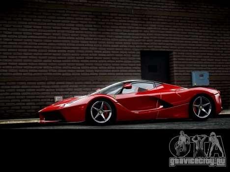 Ferrari Laferrari для GTA 4 вид слева