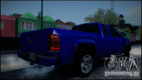 Chevrolet Silverado 1500 HD Stock для GTA San Andreas вид сбоку
