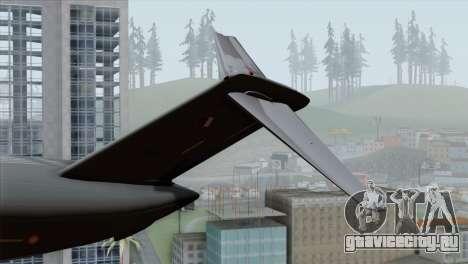 C-17A Globemaster III QAF для GTA San Andreas вид сзади слева
