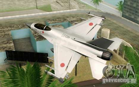 Mitsubishi F-2 Original JASDF Skin для GTA San Andreas