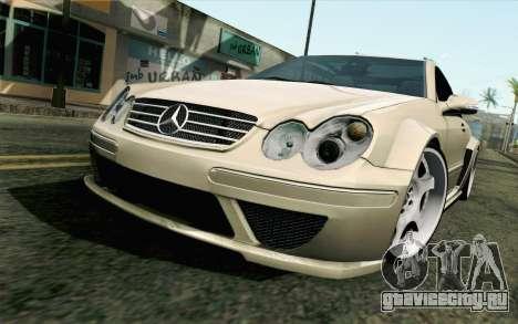 Mercedes-Benz CLK DTM 2004 для GTA San Andreas