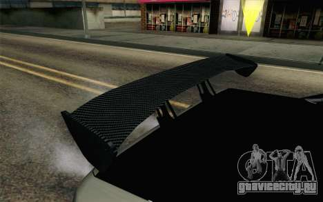 Elegy Modification для GTA San Andreas вид изнутри