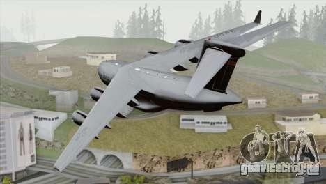 C-17A Globemaster III USAF Hickam для GTA San Andreas вид слева