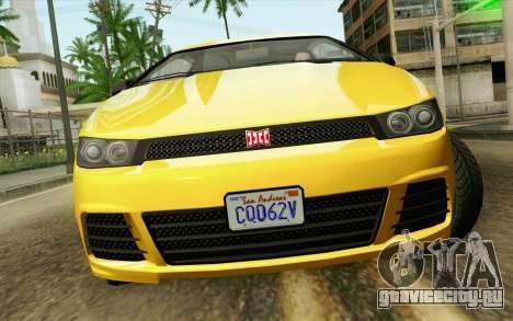 GTA V Dinka Blista IVF для GTA San Andreas