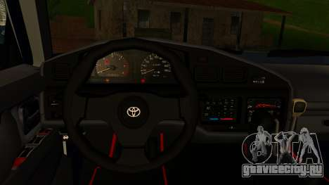 Toyota Land Cruiser 80 v1.0 для GTA San Andreas вид справа