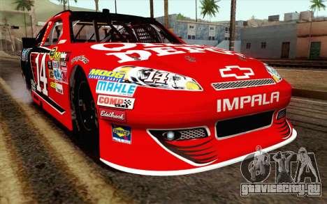NASCAR Chevrolet Impala 2012 Short Track для GTA San Andreas