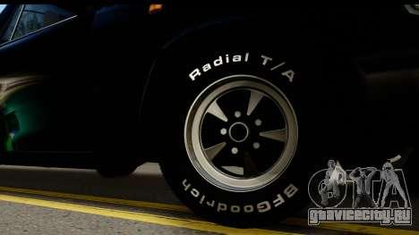 ГАЗ 31029 Пикап для GTA San Andreas вид сзади слева