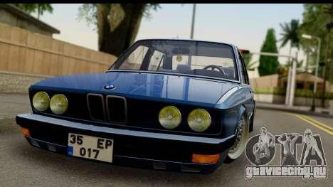 BMW M5 E28 для GTA San Andreas вид сзади слева