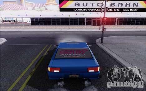 STI Sultan для GTA San Andreas вид сзади слева