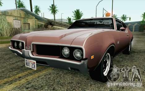 Oldsmobile 442 Holiday Coupe 1969 HQLM для GTA San Andreas