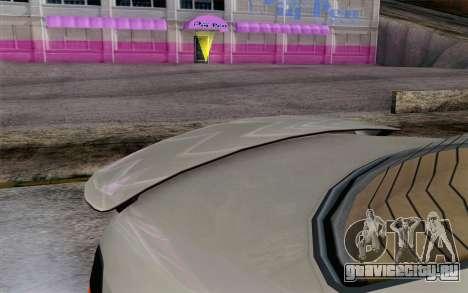 GTA 5 Ubermacht Sentinel XS IVF для GTA San Andreas вид справа