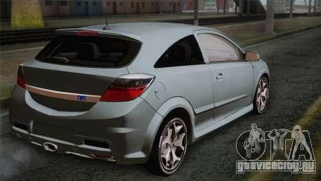 Opel Astra OPC Stock для GTA San Andreas вид слева