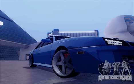 STI Sultan для GTA San Andreas вид сзади