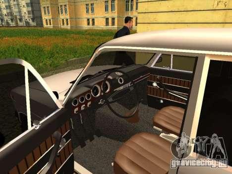 ВАЗ 2103 для GTA San Andreas вид сзади