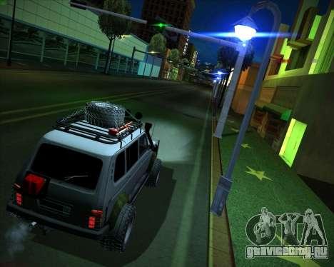 ВАЗ 2131 Нива 5Д OffRoad для GTA San Andreas вид слева
