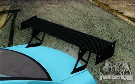 Nissan GT-R35 v1 для GTA San Andreas вид сзади