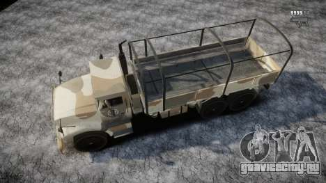 GTA 5 Barracks v2 для GTA 4 двигатель