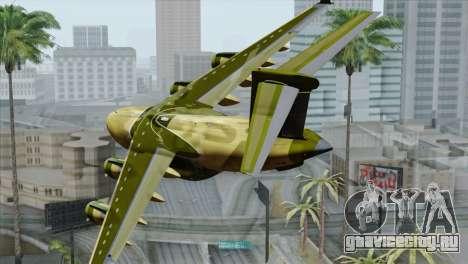 C-17A Globemaster III для GTA San Andreas вид слева