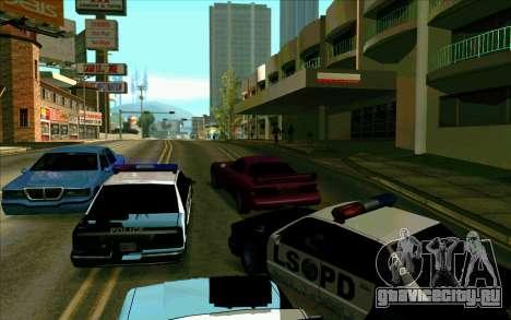Tini ENB V2.0 Last для GTA San Andreas пятый скриншот